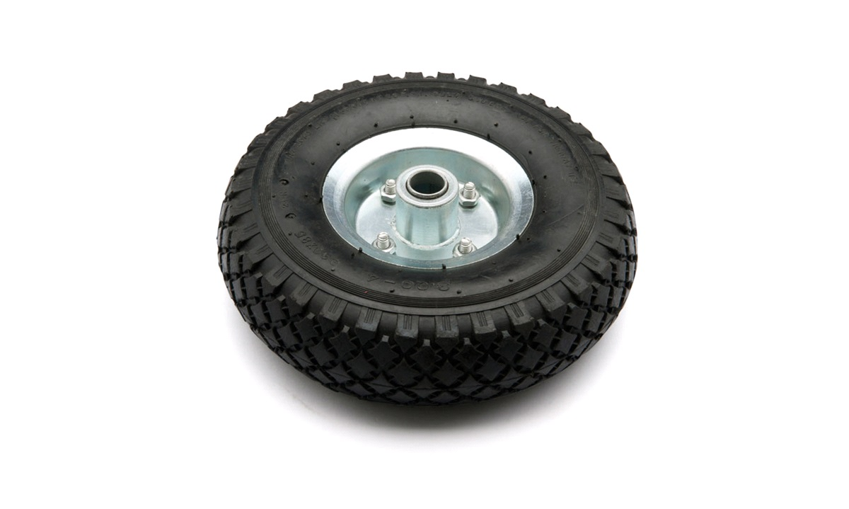 Reservehjul for næsehjul, luftgummi