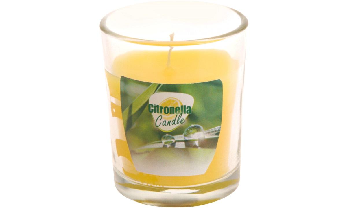 Myggelys Citronella i glas 130g