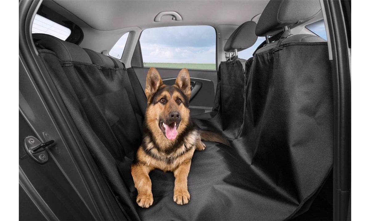 Bagsædeovertræk til hunde 145x150cm