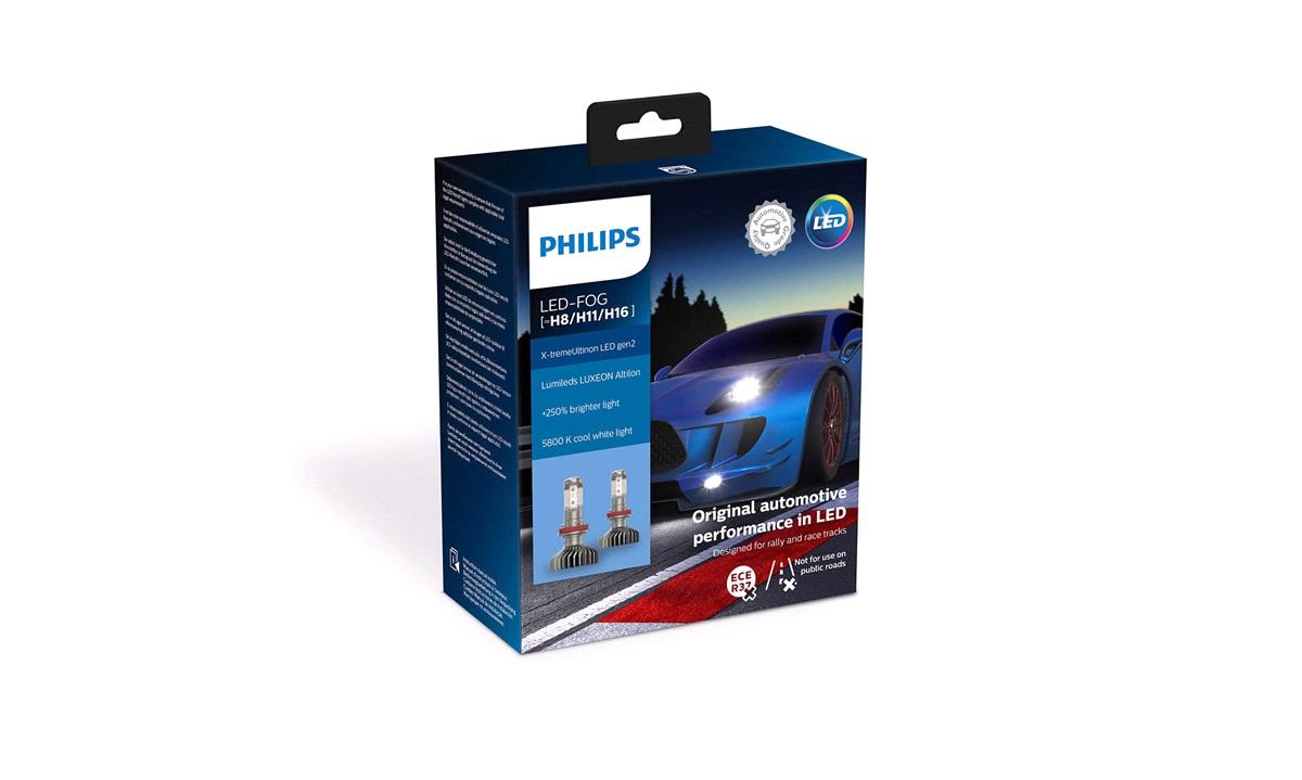 Pæresæt LED Retrofit FogWhite H8 H11 H16