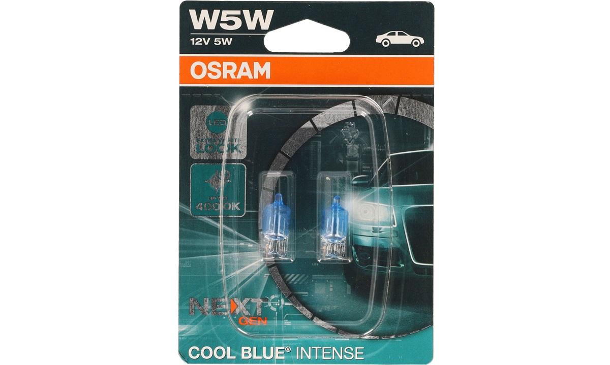 Pæresæt W5W 12V CoolBlueIntense Osram