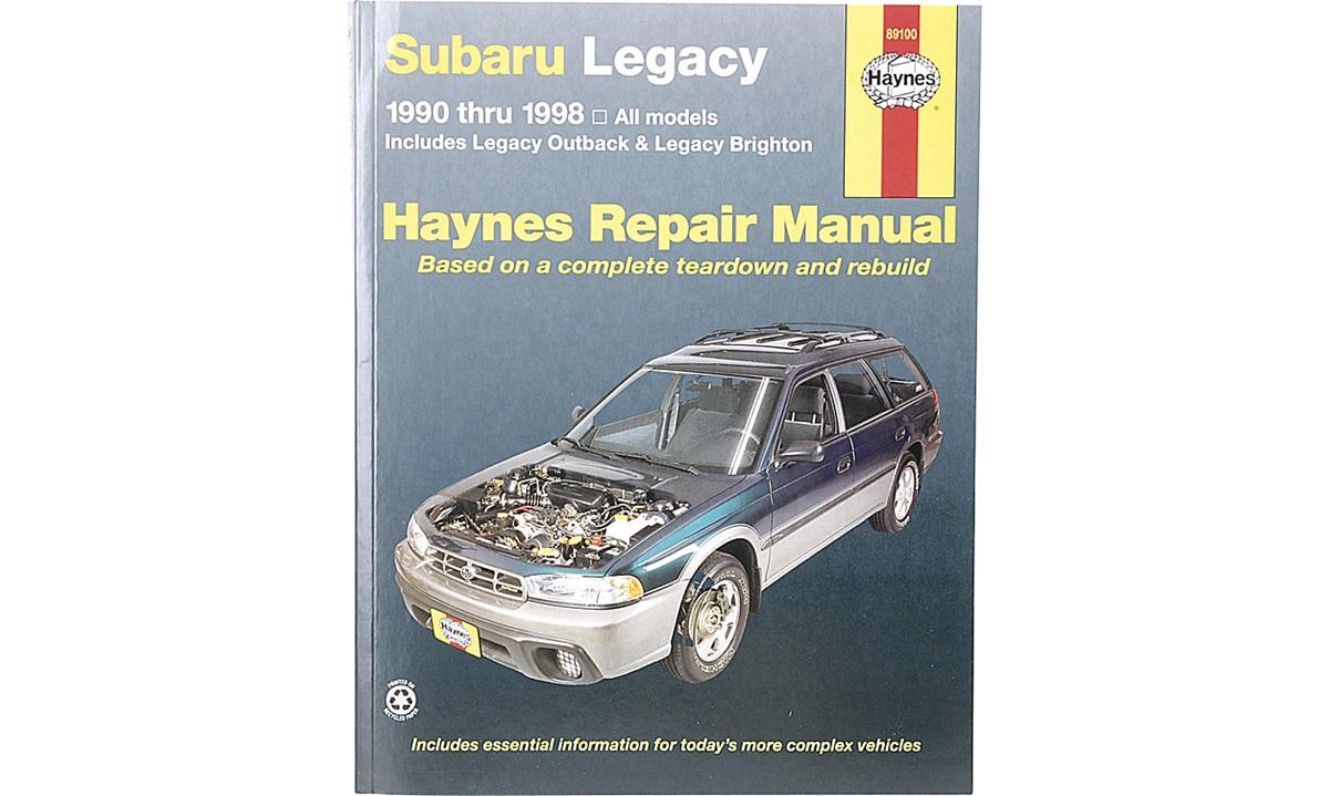 Reparasjonshåndbok Legacy 12/90-3/99
