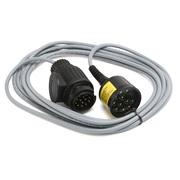 Tilhengerstik tester 13-polet 4M kabel