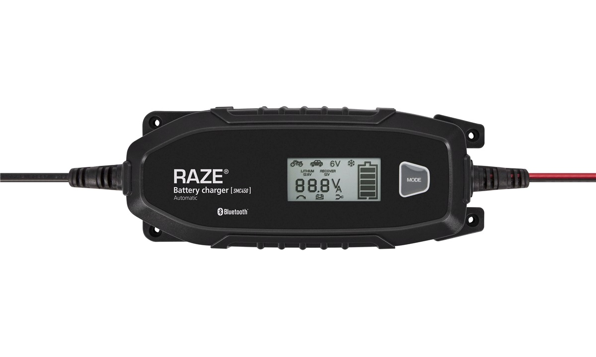 RAZE SMC450 SMART APP Batterilader 4A