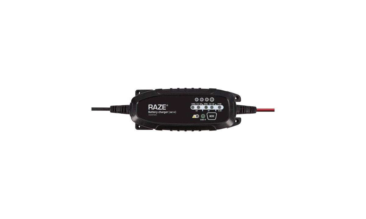 RAZE SMC110 Batterilader 1.5A 6V/12V