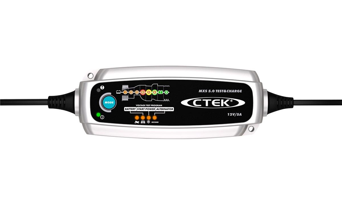 Batterilader CTEK MXS 5.0 Test&Charge