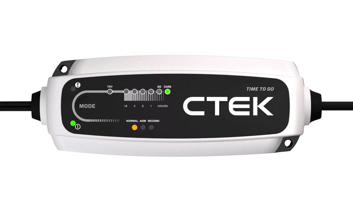 Batterilader CTEK CT5 TIME TO GO