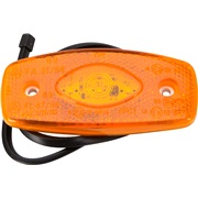 Markeringslys LED ORANGE 12/24V