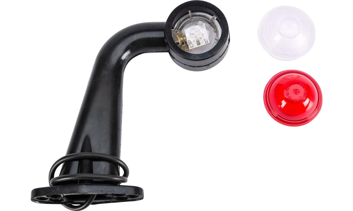 Slingrelygte LED Rød/Hvid 12/24V