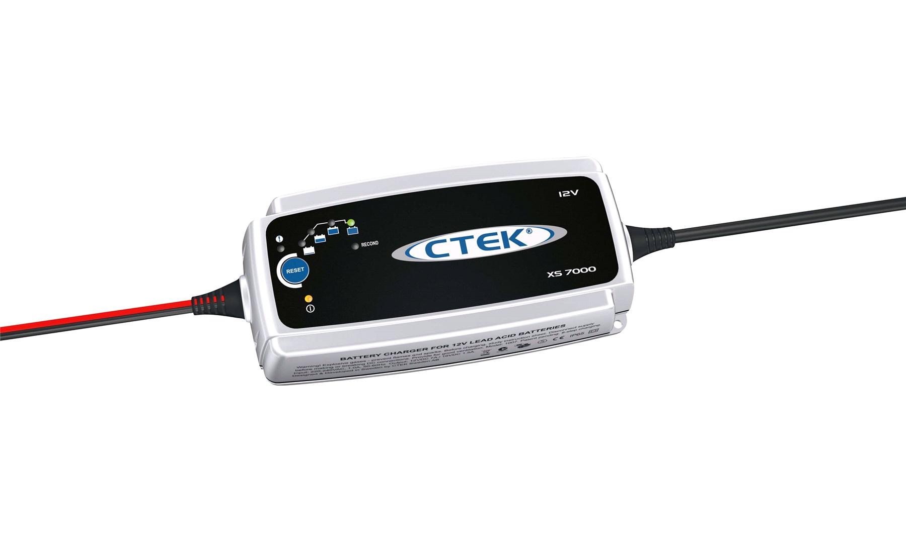 CTEK MXS 7.0 Lader for blybatterier 14 til 150Ah 12V