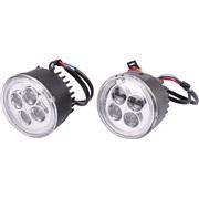 LED kørelys sæt DRL, rundt E4