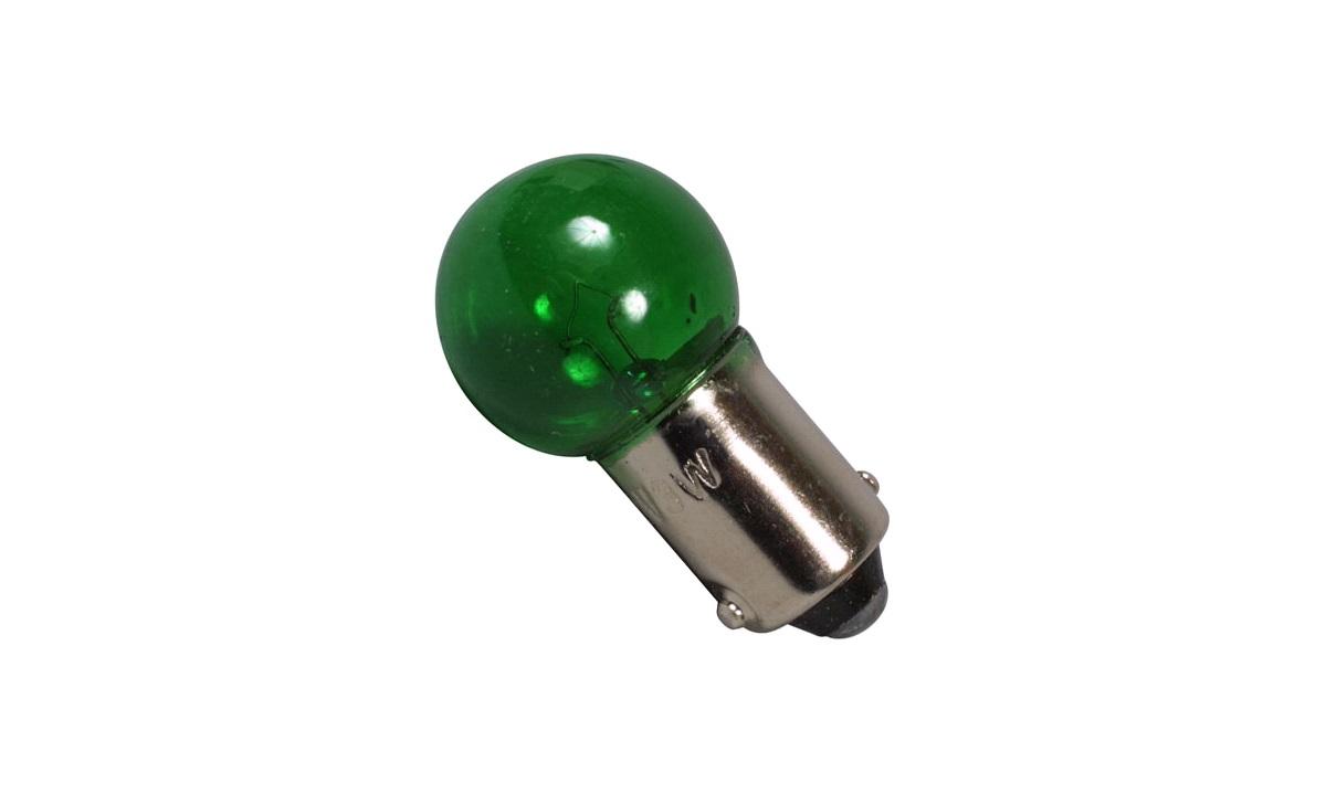Pære 12V-3W (BA9s) grønn