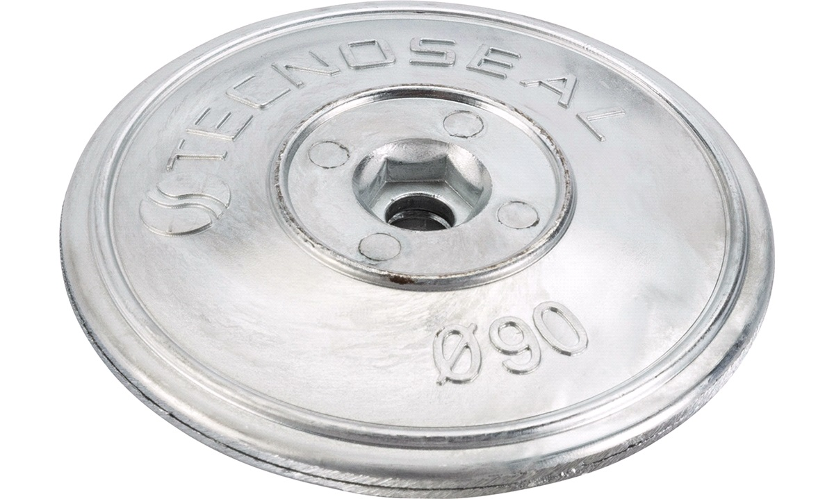 Sinkanod tallerken sett ø90mm 450 gr