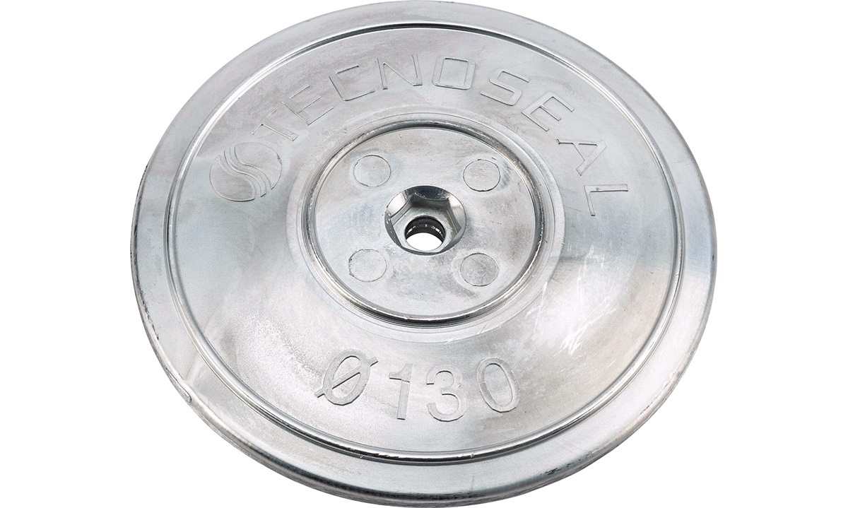 Sinkanode tallerken sett ø130mm 1030 gr