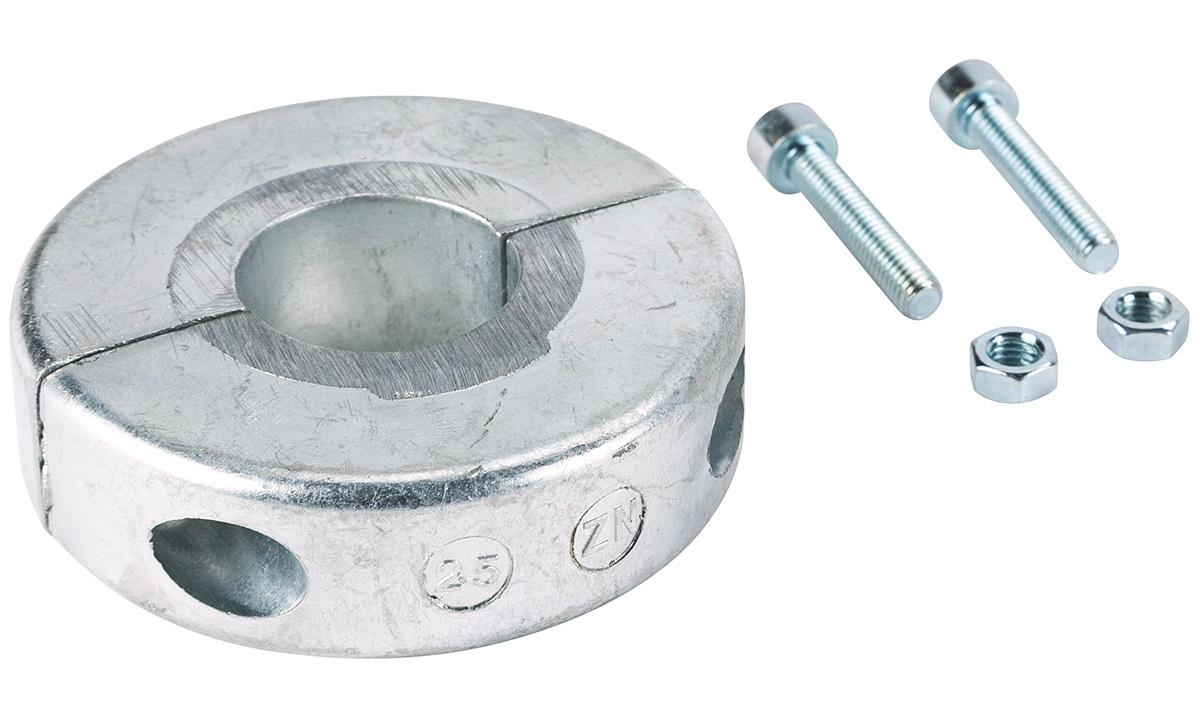 Sinkanode Aksel 25mm, smal 18mm
