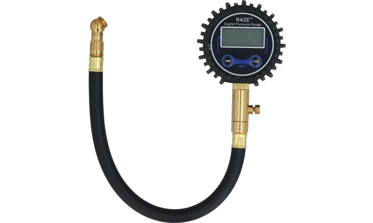 Digital dæktryksmåler m/slange RAZE