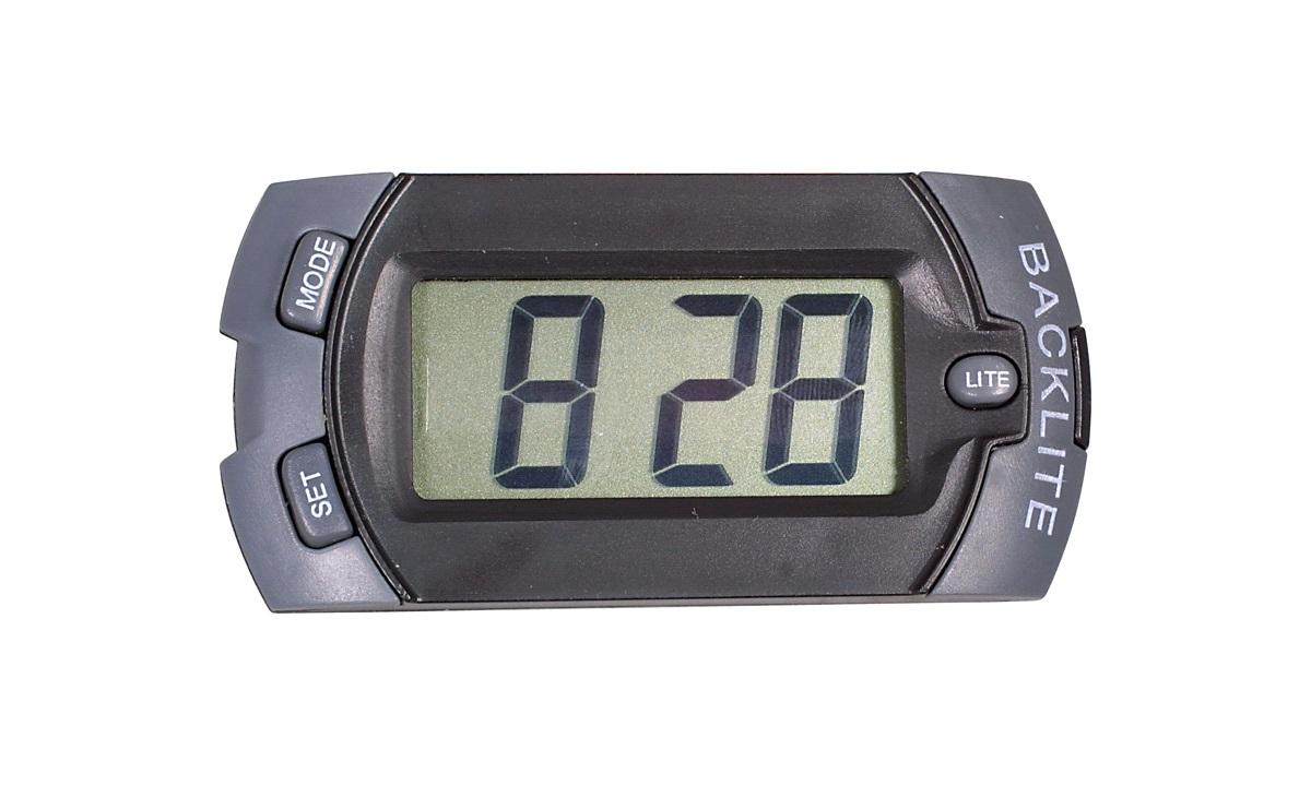 Auto digital klokke
