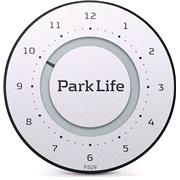 Elektronisk P-skive Park Life Silver