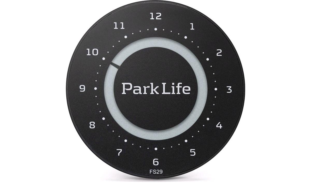 Elektronisk p-skive Park Life Black