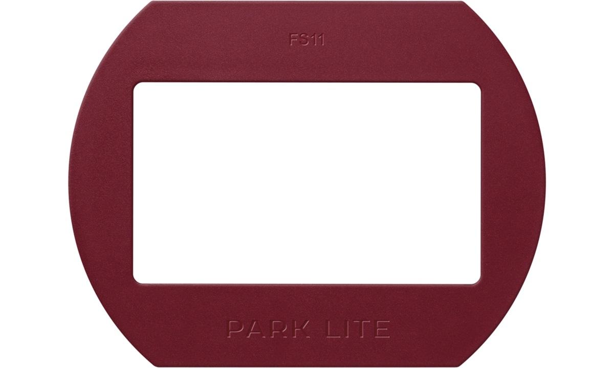 Front til PARK LITE mørk rød