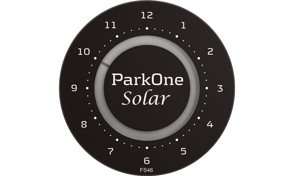 Elektronisk P-skive ParkOne Solar