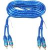 Phono Kabelsæt, blue 5M