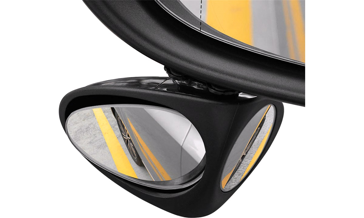 Blind vinkel dual spejlsæt