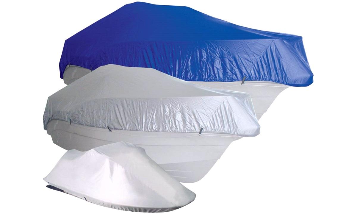 Bådpresenning 630-710x380cm, Blå