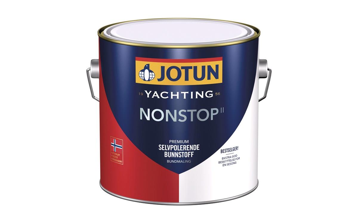 JOTUN Bundmaling,Non-stop hvid 2,5ltr
