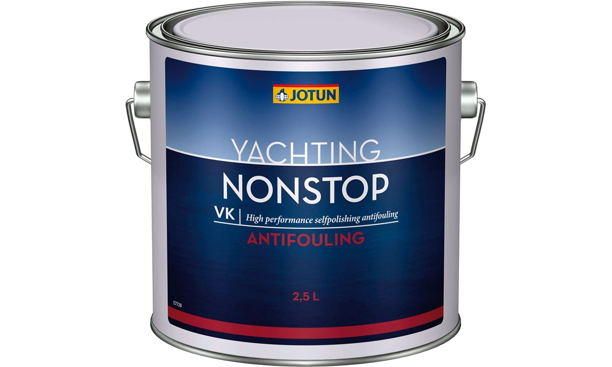 JOTUN Bundmaling, Non-stop Blå 2,5ltr