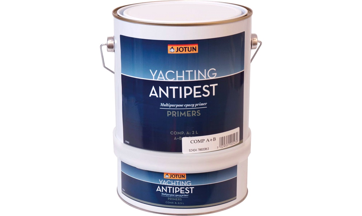 JOTUN Primer anti-pest 2-komp. grå 2,5l.