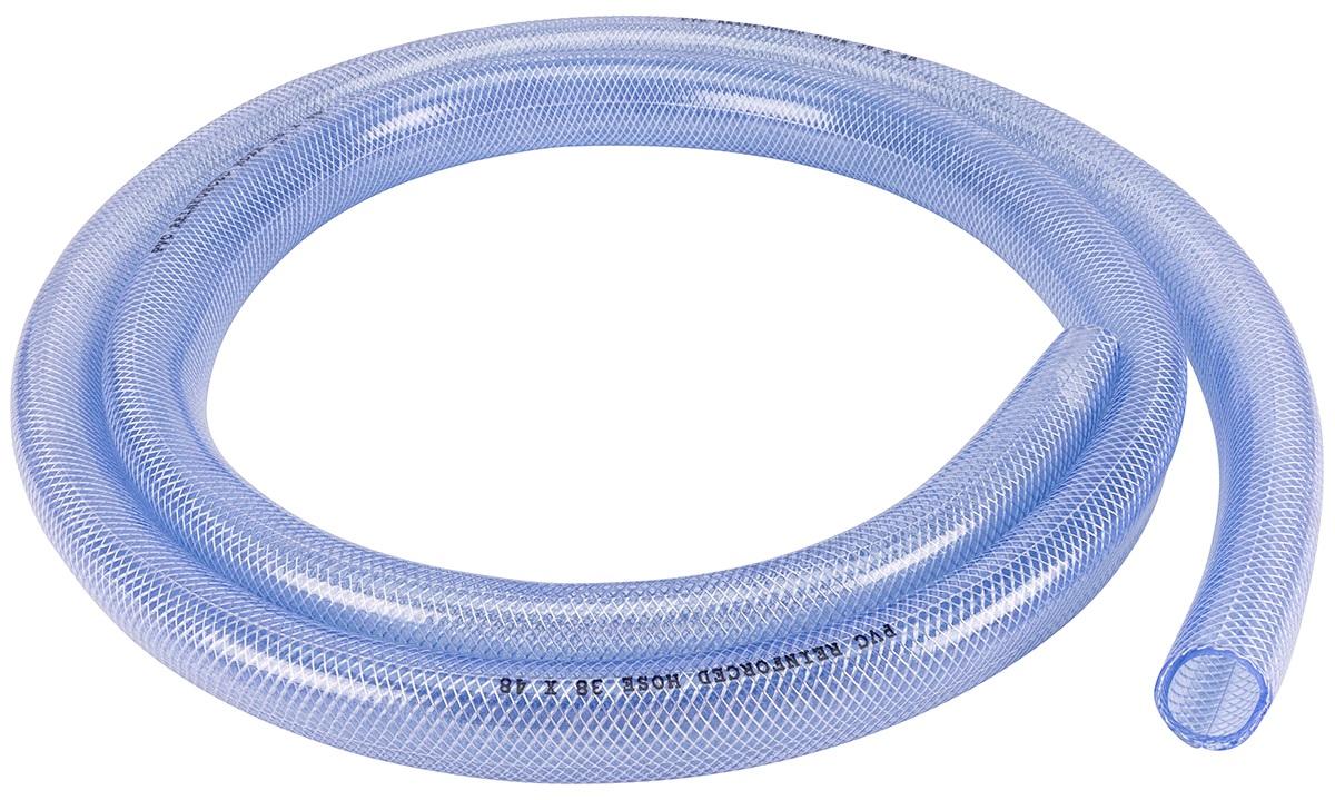 Klar pvc kryssvevd slange  38mm, 3m