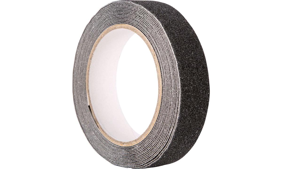 Skridsikker tape, sort, 25mm x 5m