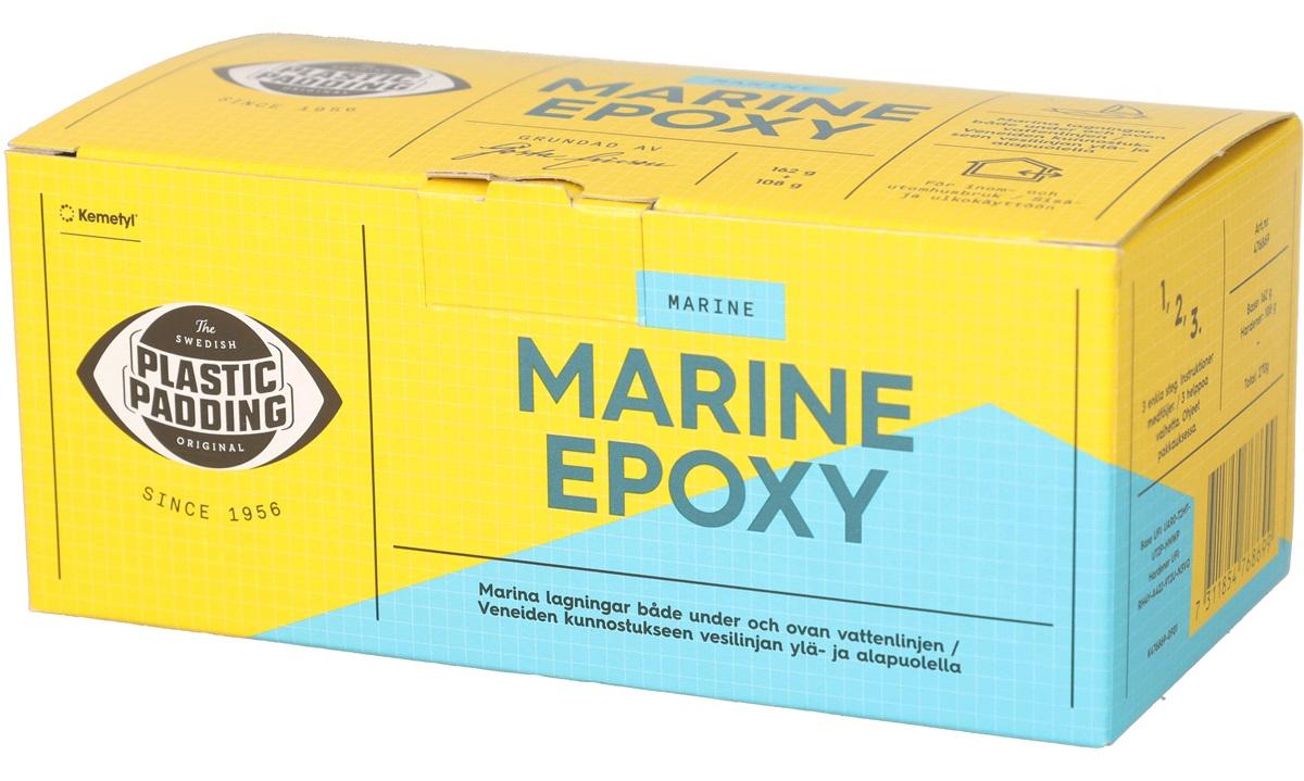 Marine Epoxy, Plastic Padding, 270 g