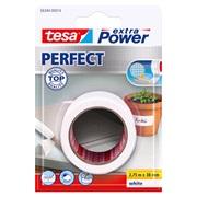 TESA Lærredstape, Ex Power hvid 38x2,75