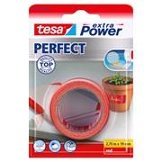 TESA Lærredstape, Ex Power rød 19x2,75