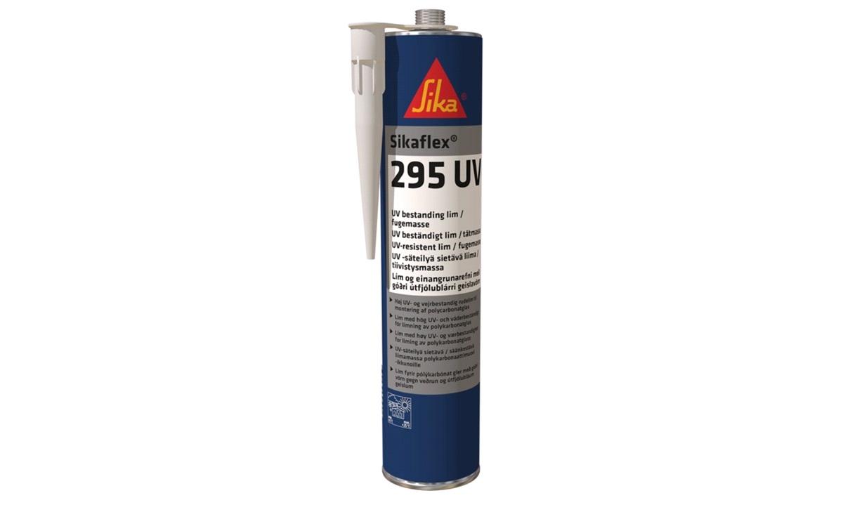 Sikaflex 295 UV Black Rudelim 300ml
