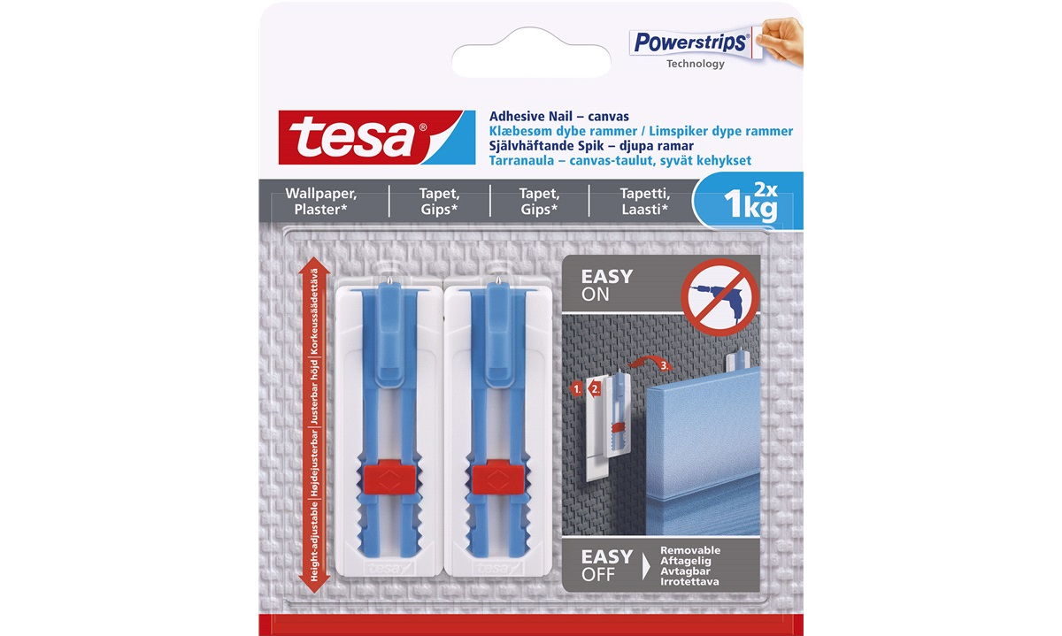 TESA limspiker 1kg 2x dype rammer