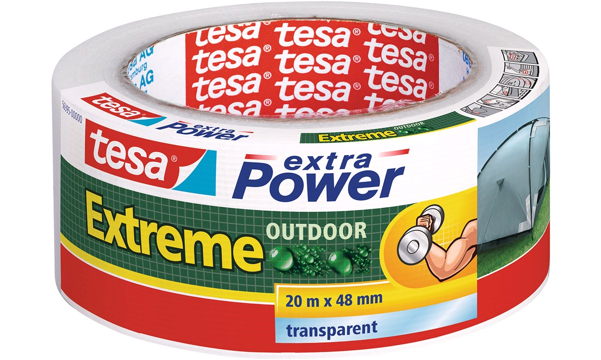 TESA Tape Extreme Outdoor Repair Transparent
