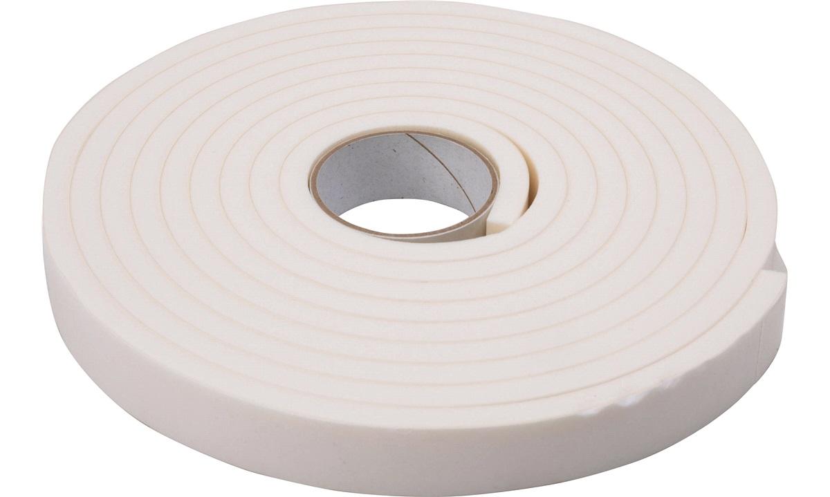 PSP Vinyl Foam Tape, 19x6mmx3mtr Hvid