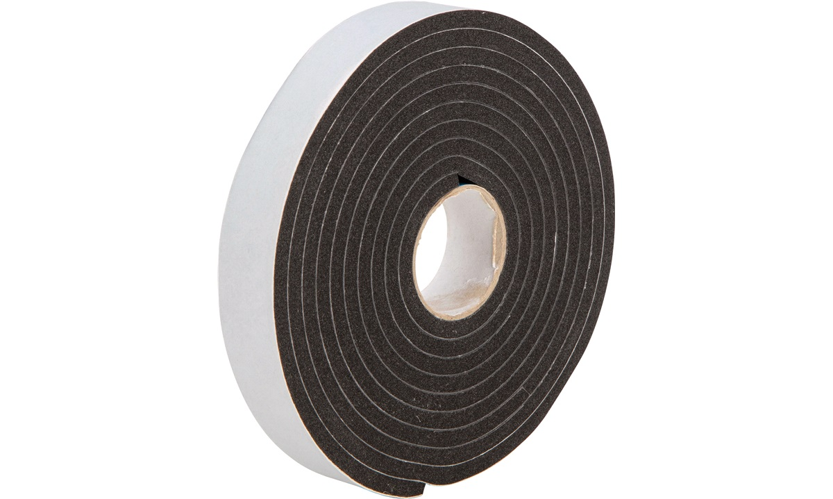 PSP vinyl foam tape m/klæb 25x6mmx3mtr
