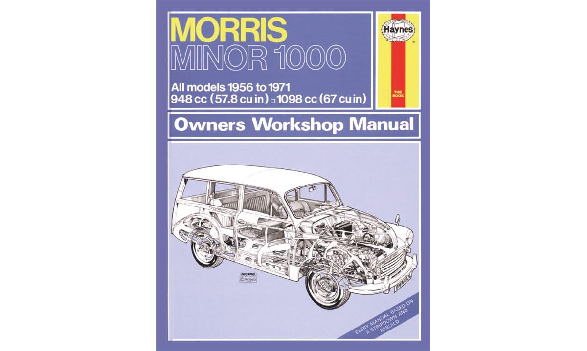 Reparasjonshåndbok Minor 1,0+1,1 56-71