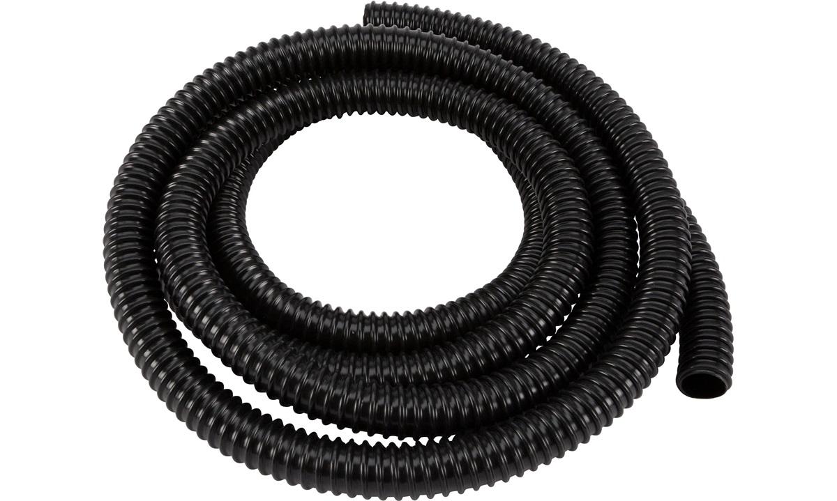 Spiralsugeslange 19mm, sort, 3mtr.