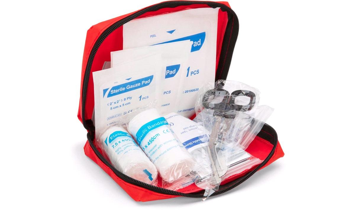 Førstehjælpskasse Auto 1-2-3-4-5