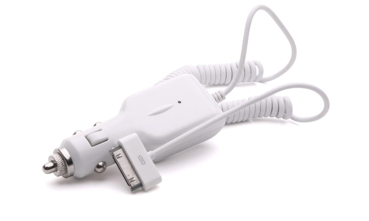 12/24V autolader til iPod/iPhone 3GS/4/4S