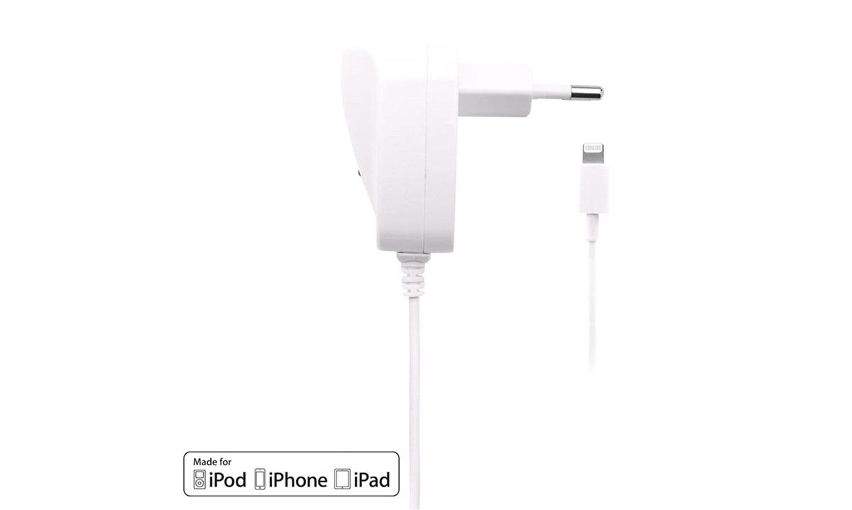 110-240V Rejselader iPhone Lightning