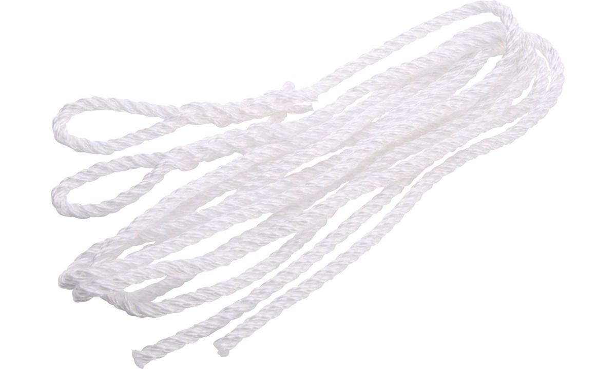 Fenderline 3-slått hvit PP Ø6mm 1.5m 2st
