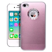Cover Pink Alu iPhone 4/4S