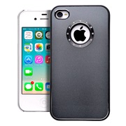 Cover Dark grey Alu iPhone 4/4S