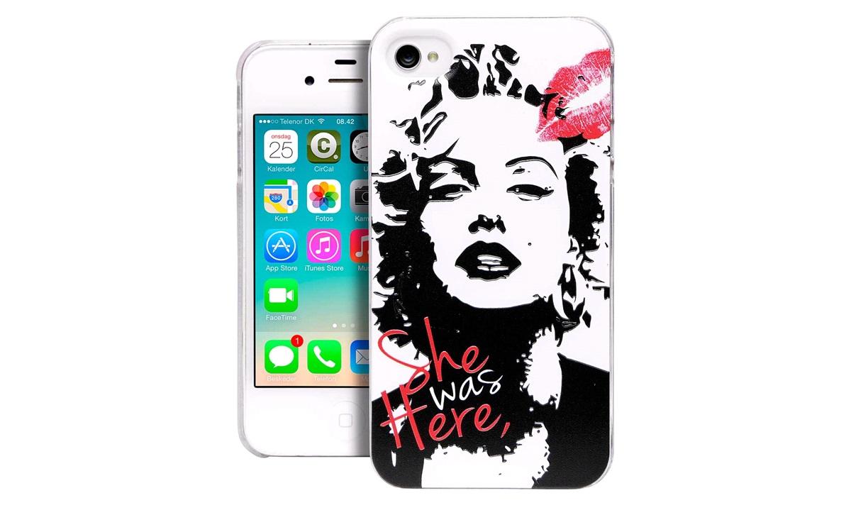 TPU cover Marilyn iPhone 4/4S